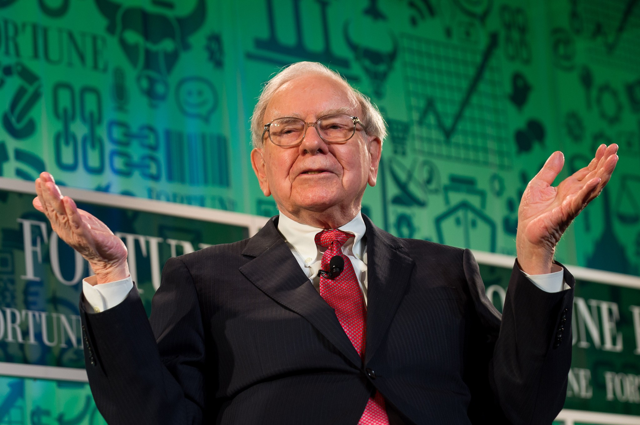 The best financial guru - Warren Buffett