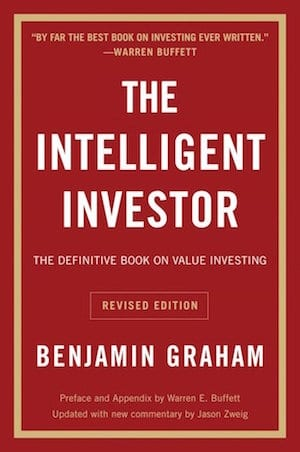 investing book by benjamin graham called The Intelligent Investor